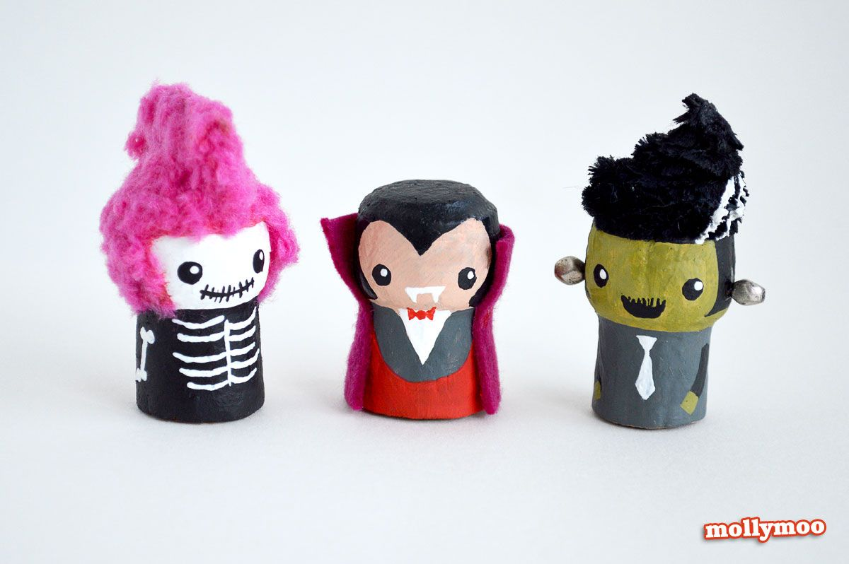 Halloween toy characters