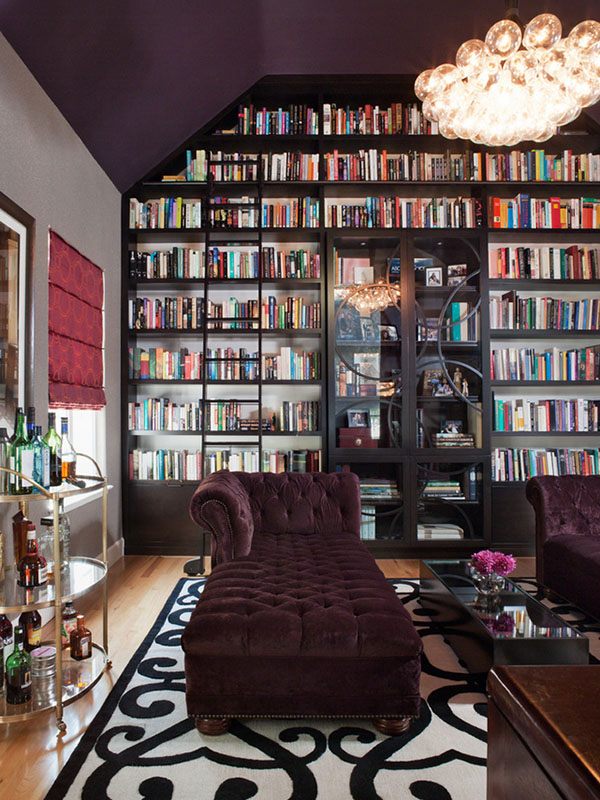 High-Vaulted Elegance Library