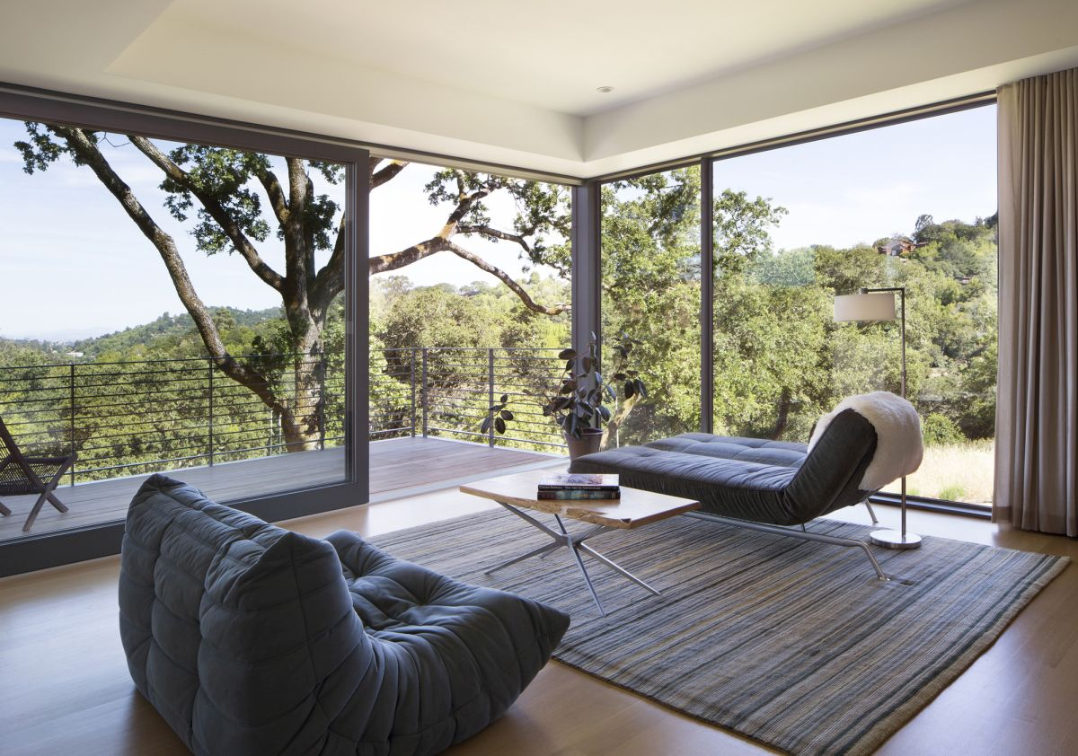 Hillside House from Shands Studio Living View