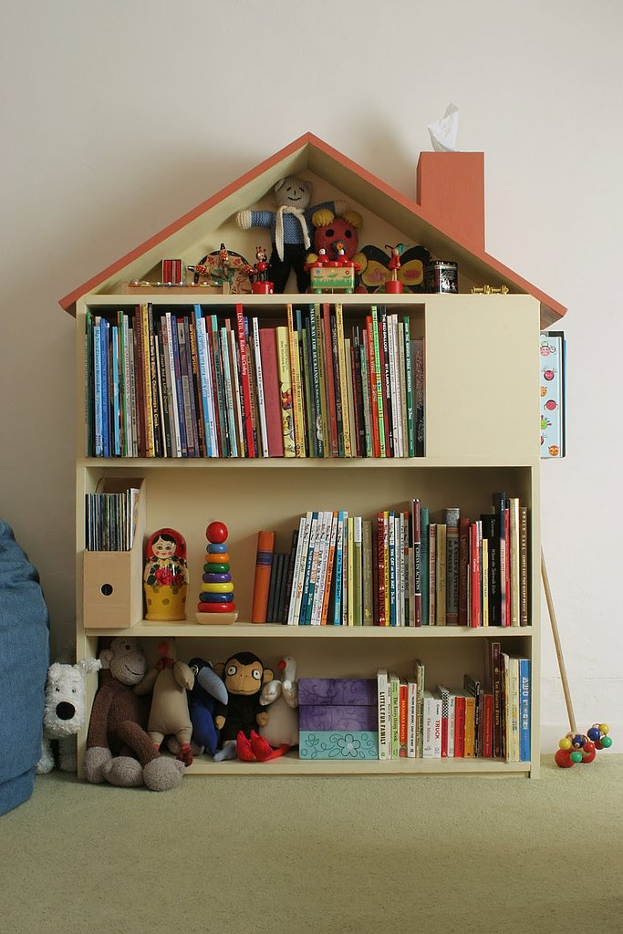 House shelf book storage : kids book storage ideas  - Aquiesqueretaro.Com