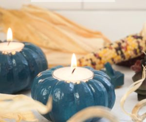 Jewel Tone Pumpkin Votives