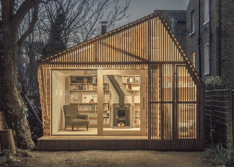 Light writing shed