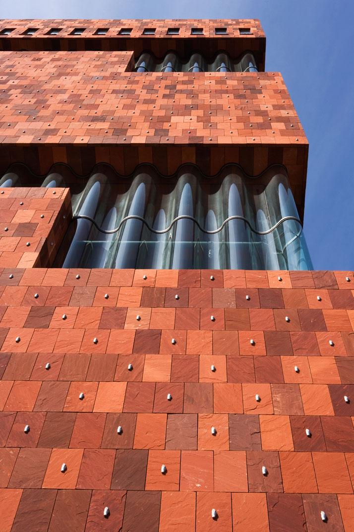 MAS Museum in Antwerp Facade