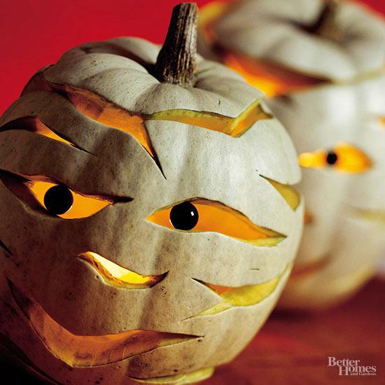 Cut Odd Shapes on Your Pumpkin