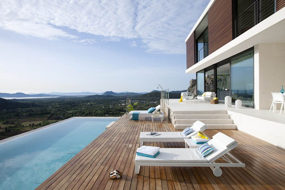 Mallorca House on Hillside Pool
