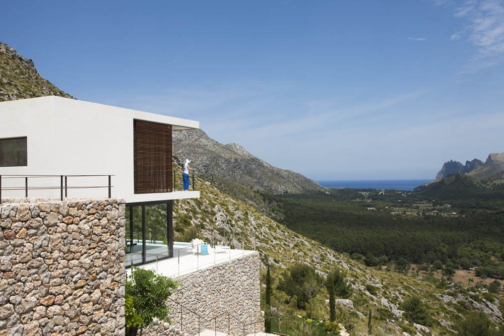 Mallorca House on Hillside View