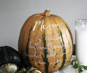 12 Marvelous Menu DIY's for Your Friendsgiving