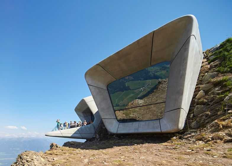 Messner Mountain Museum by Zaha Hadid Angle