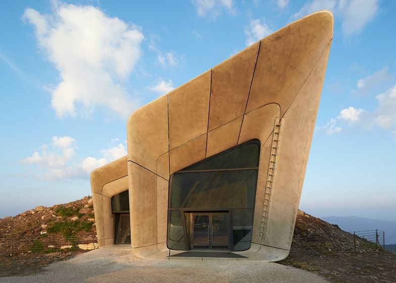 Messner Mountain Museum by Zaha Hadid Front