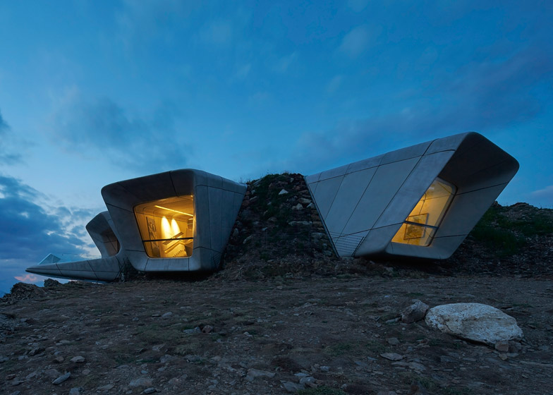 Messner Mountain Museum by Zaha Hadid View
