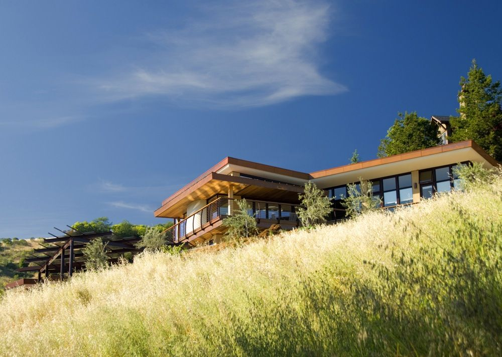 Mill Valley Hillside House