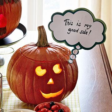 Make a Pumpkin With a Message