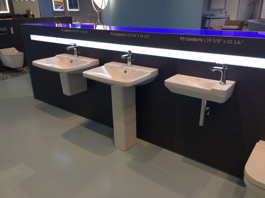 P3 washbasin styles and sizes