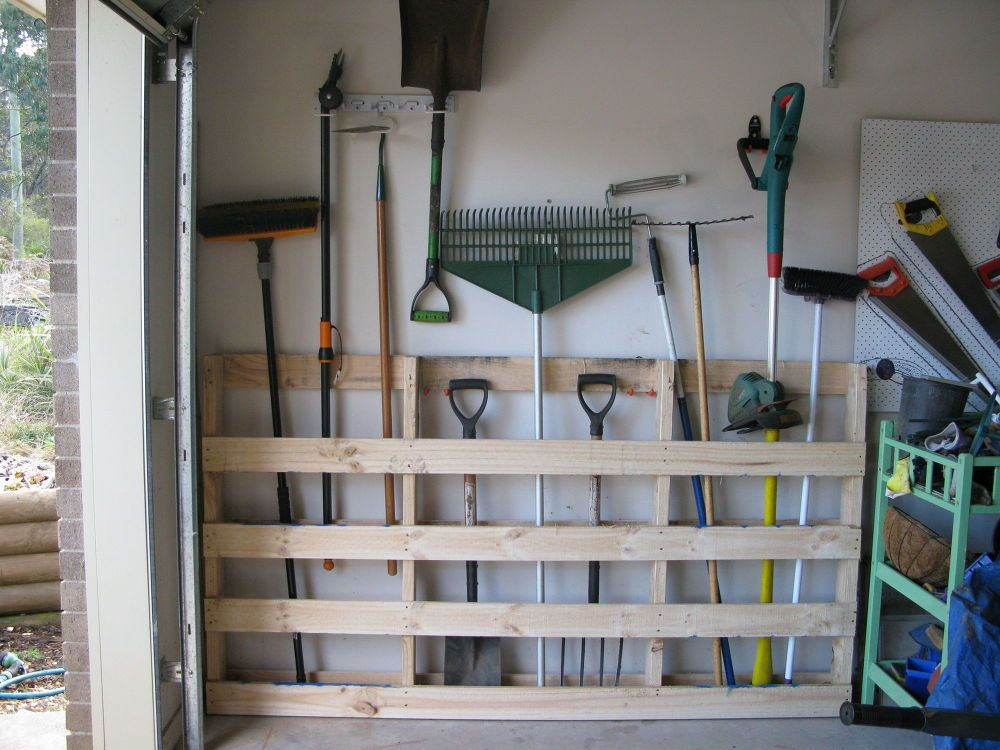 garage stoarage ideas - DIY Storage Solutions For A Well Organized Garage