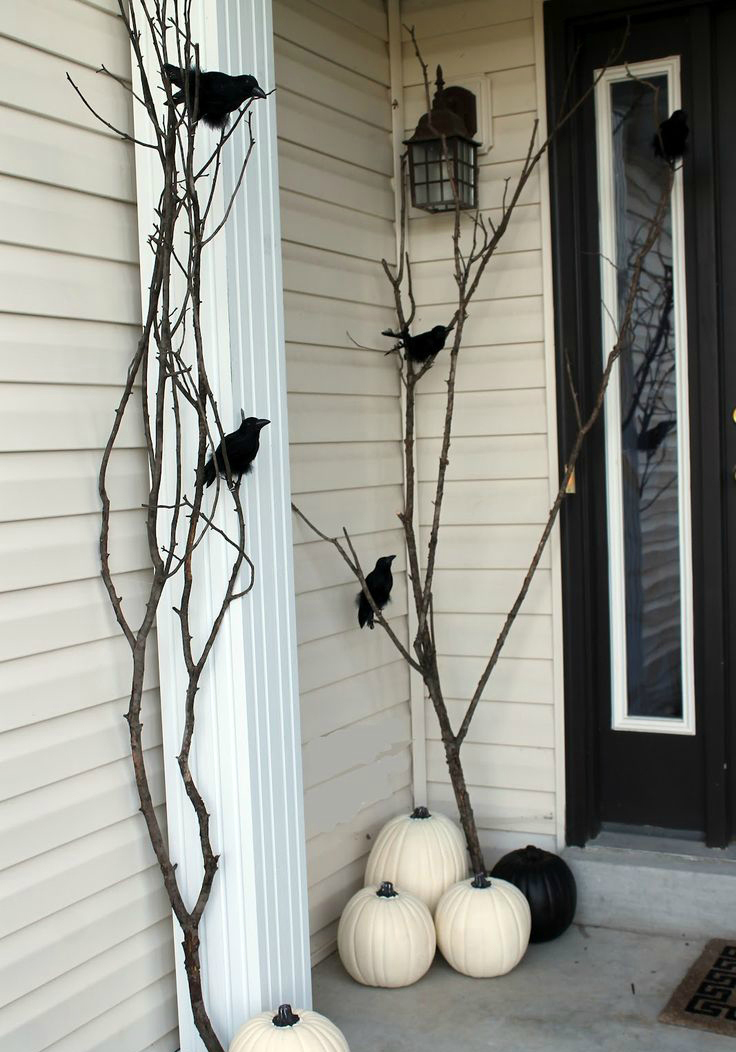 Porch tree sticks