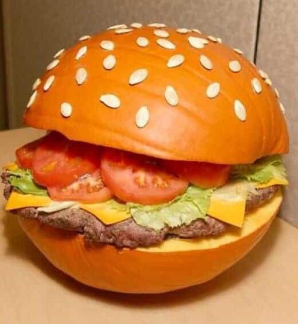 Pumpkin Hamburger