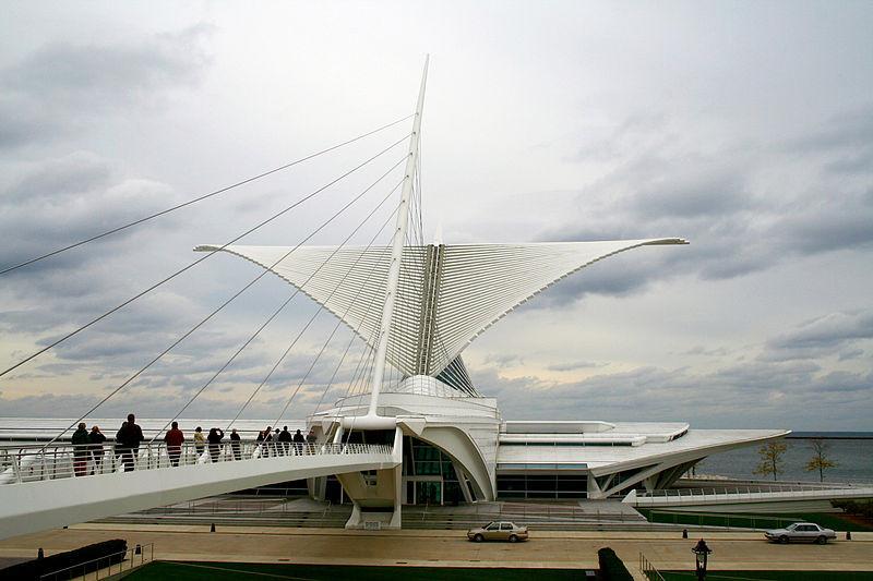 Quadracci Pavilion by Santiago Calatrava