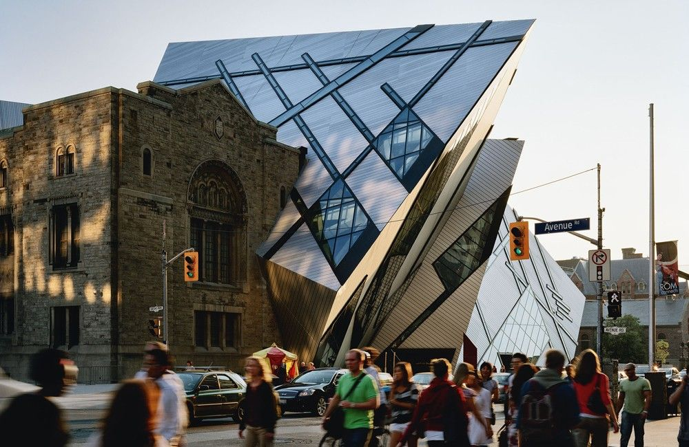 Royal Ontario Museum by Daniel Libeskind View