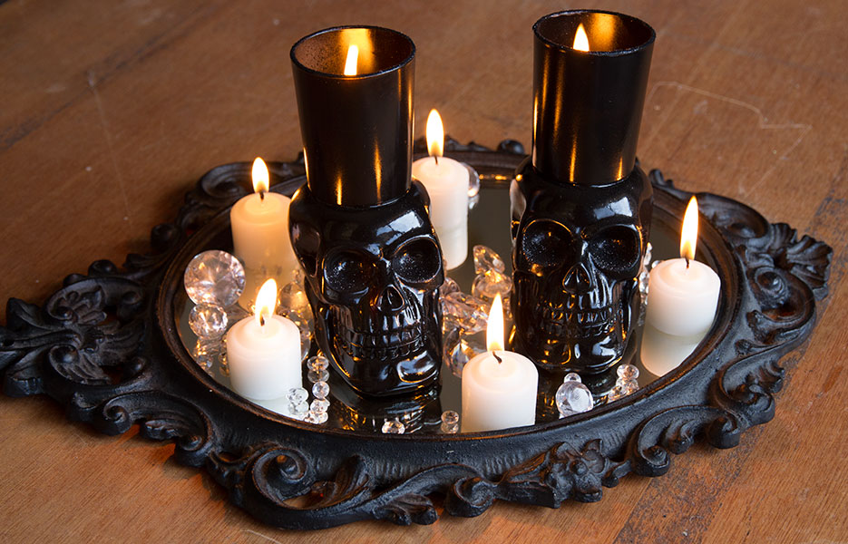 Skull Votive Holders