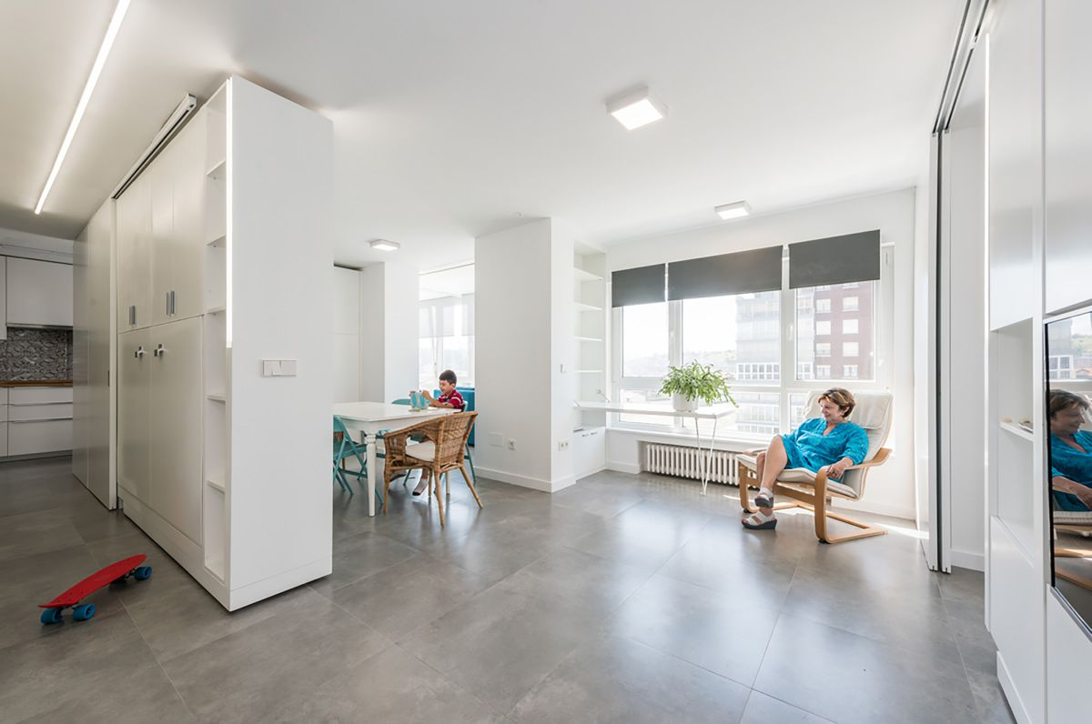 Small space in Madrid but well organized