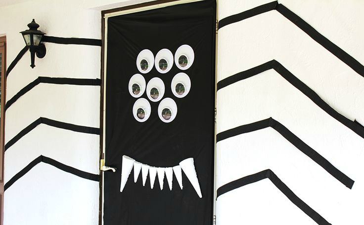 Spider front door