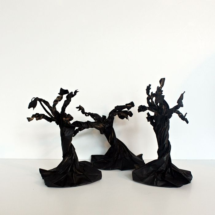 Spooky paper trees