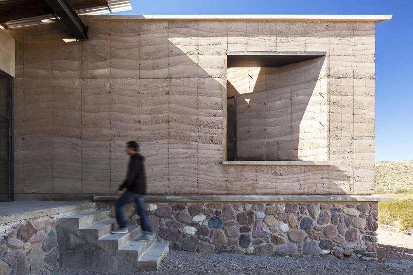 The Cave by Greenfield facade materials