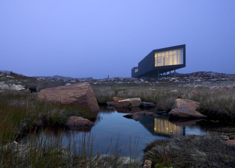 The Fogo Island Studios view