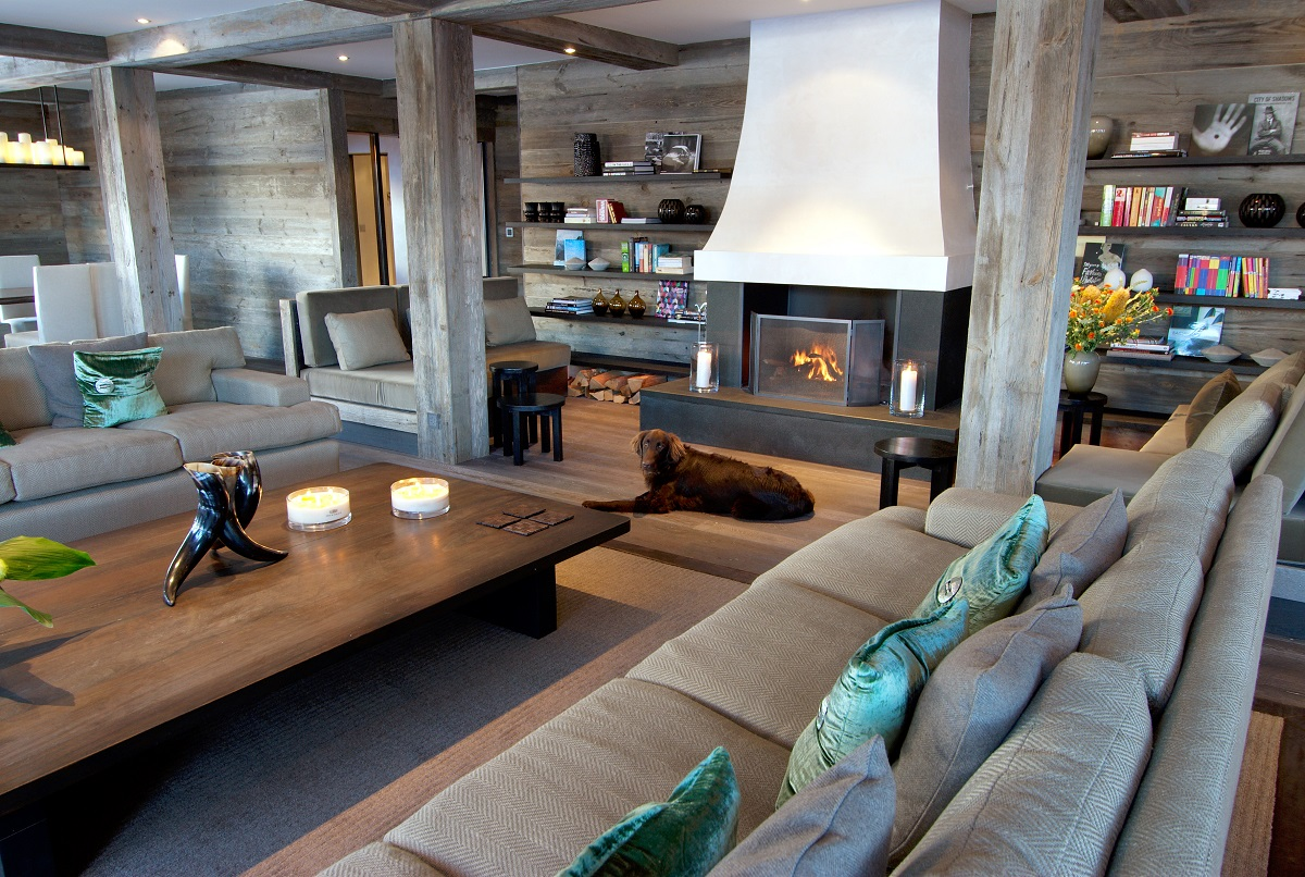 The Lodge Living Fireplace - Verbier, Switzerland