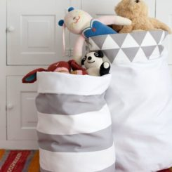 Superb 5 DIY Fabric Storage Bins Great At Everything Awesome Ideas