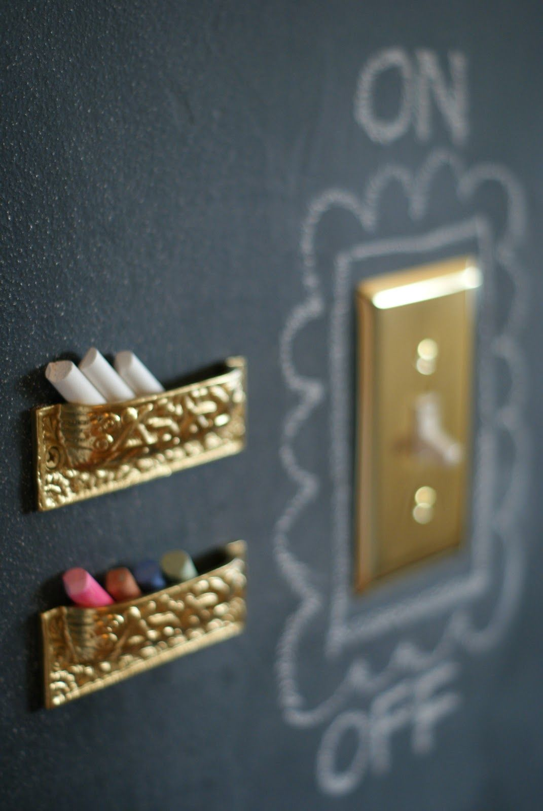 Wall Chalk Holders