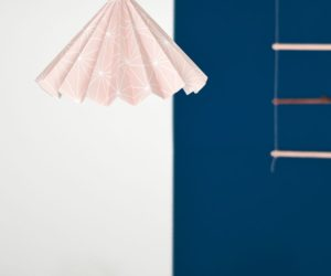 How To Turn Wallpaper Into A Design Lampshade