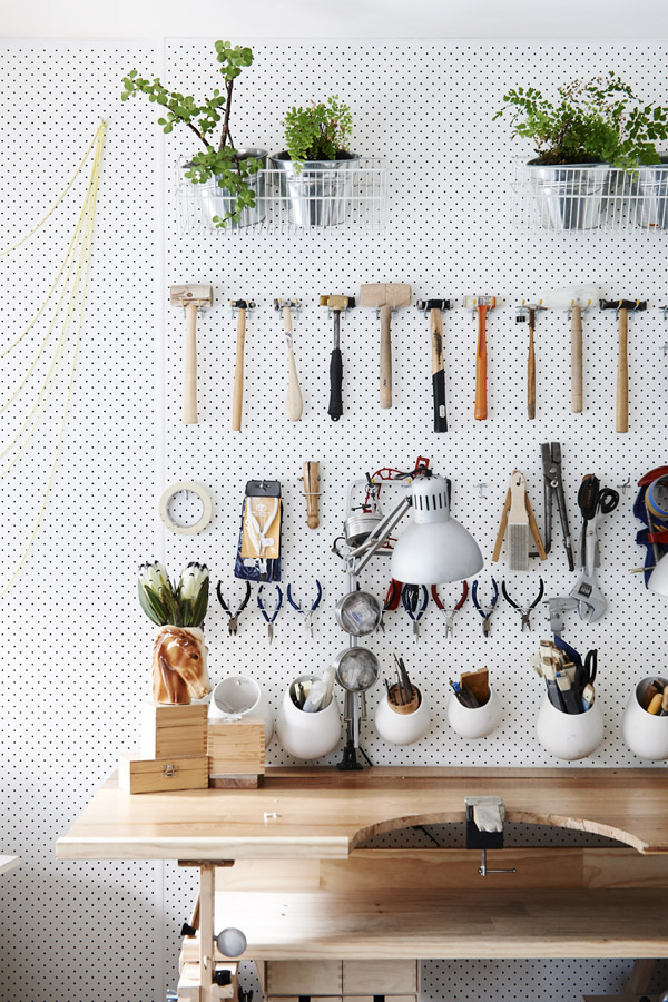 White Mount pegboards