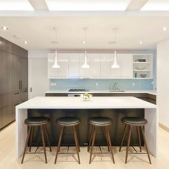 Nice Stylish Seating Options For Modern Kitchen Islands