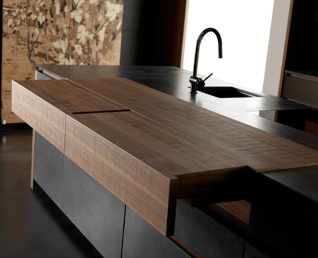 Wind Eta from toncelli with wood countertop