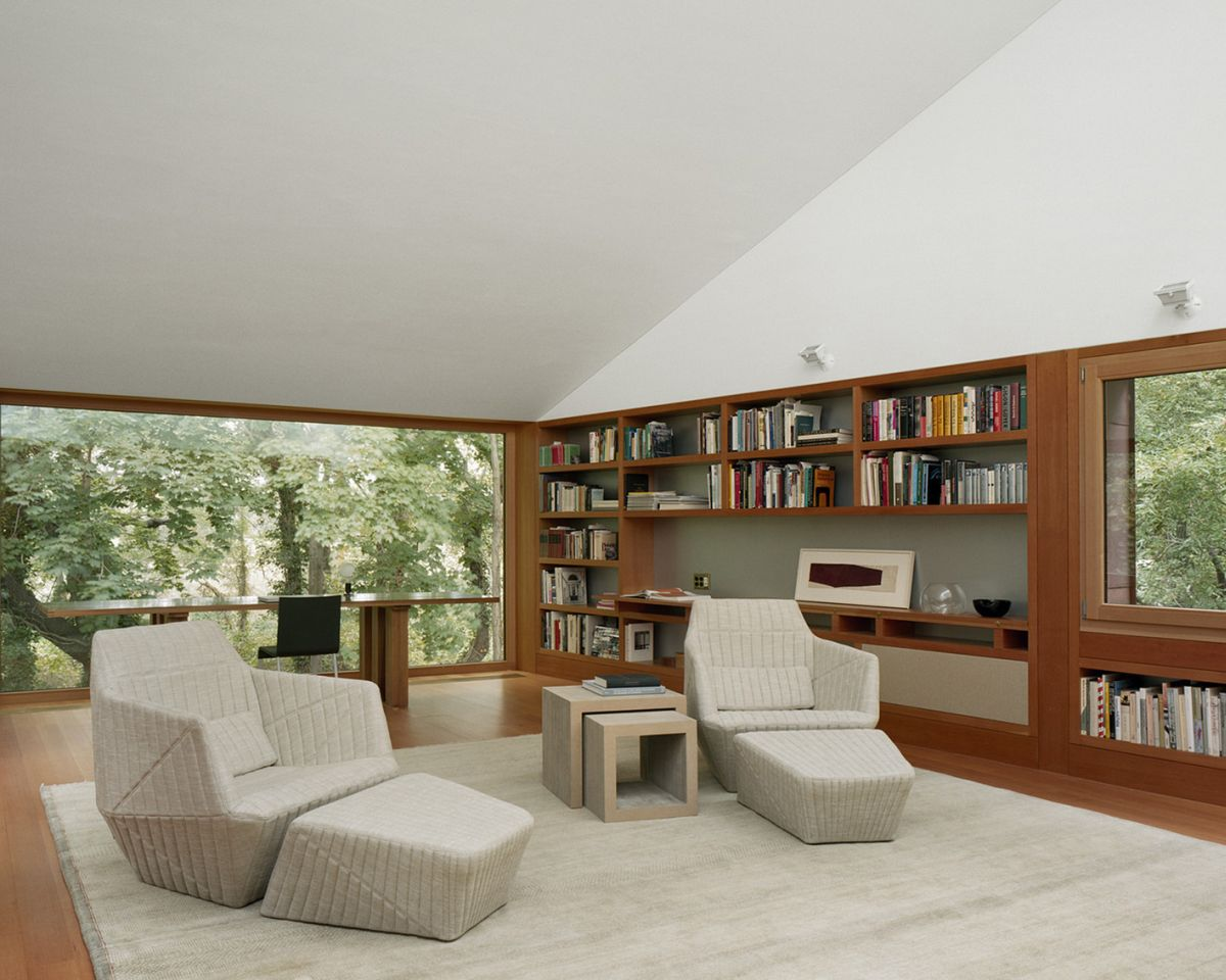 Writing Studio into the Forest Living