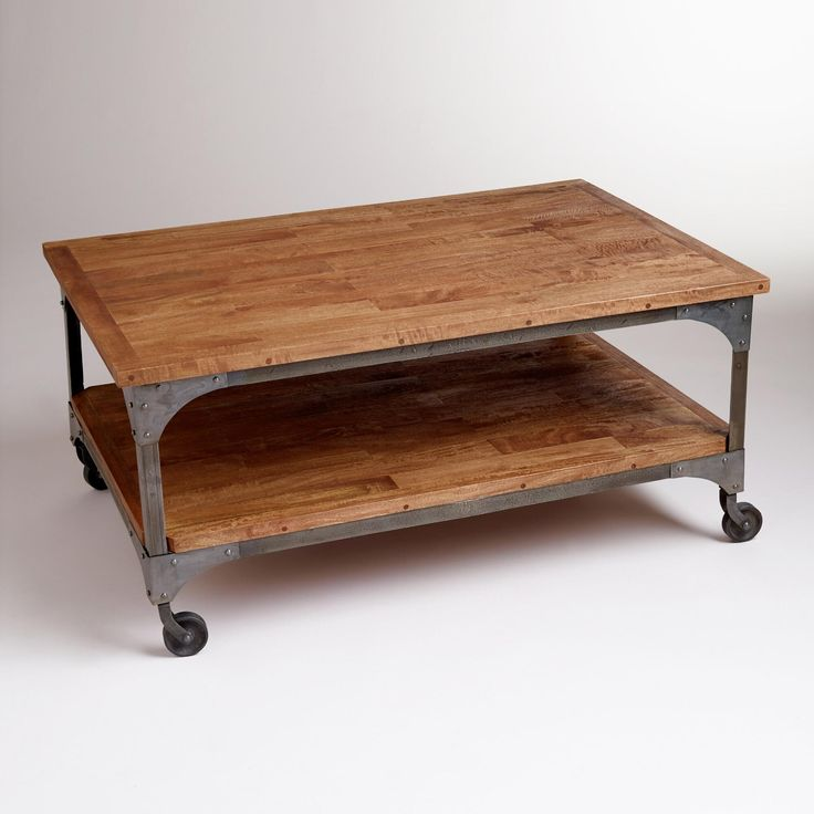 buy rustic coffee table