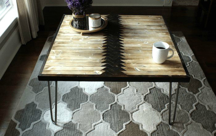 diy tribal coffee table