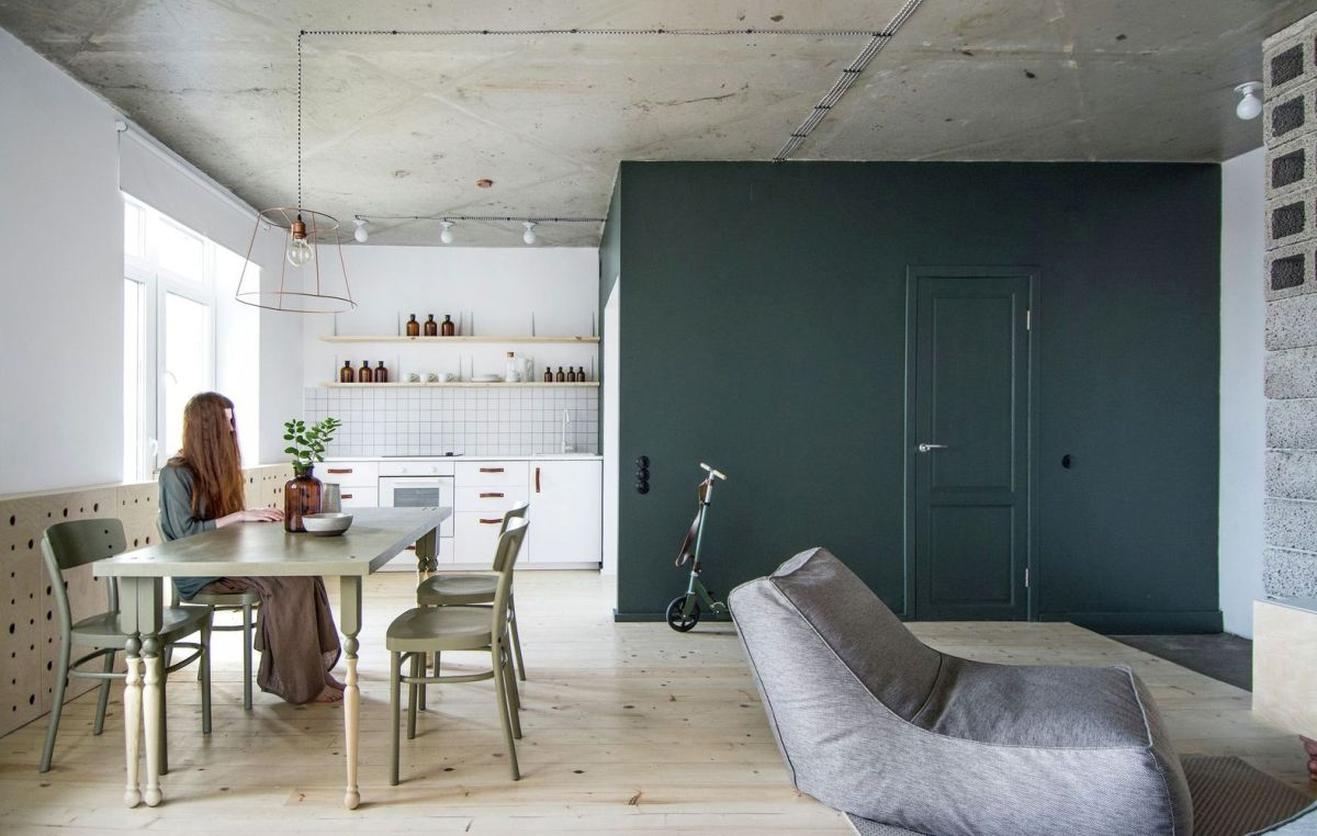 Eclectic Apartment Gives New Functions To Simple Designs