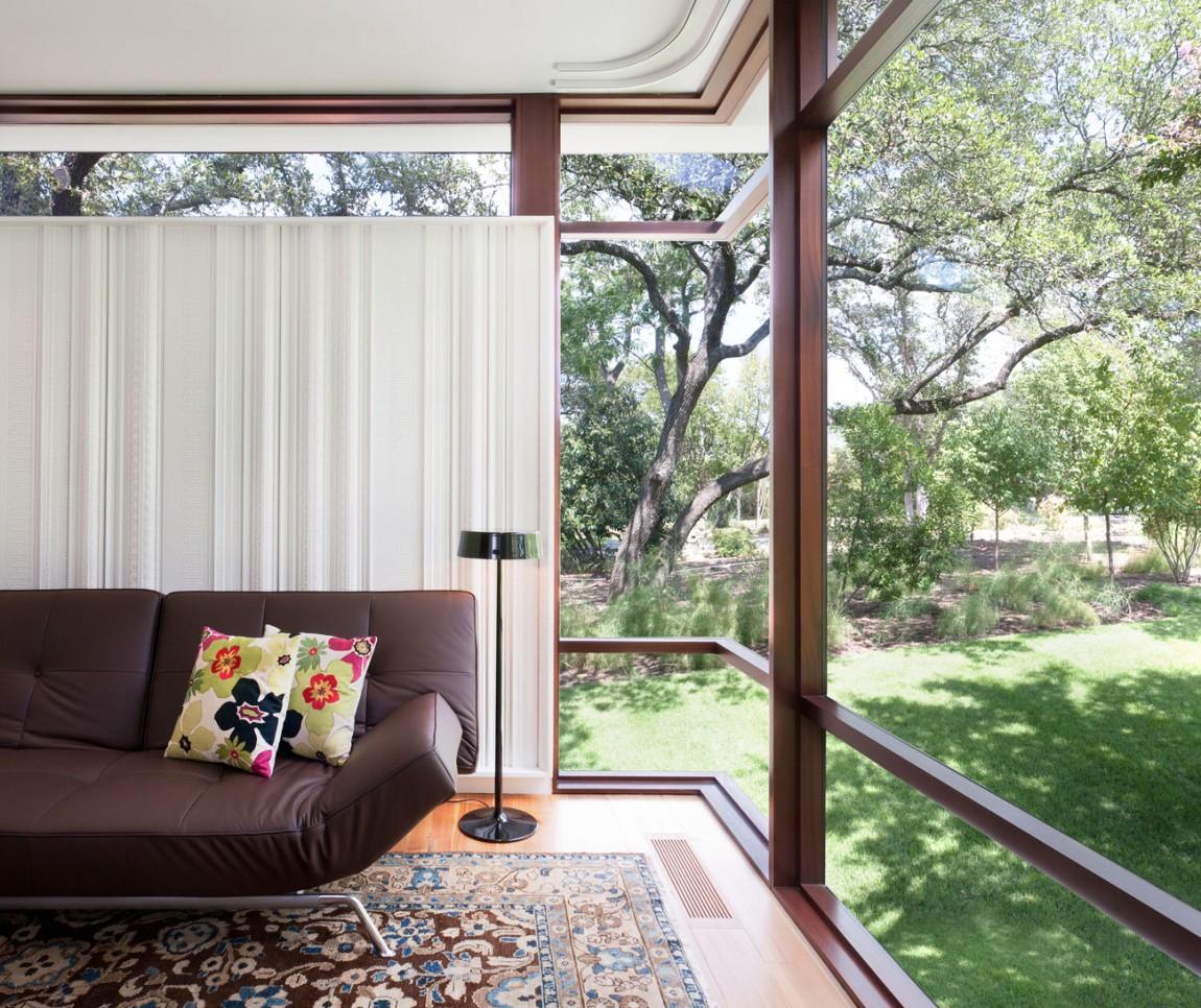 lake view residence living room sofa and views