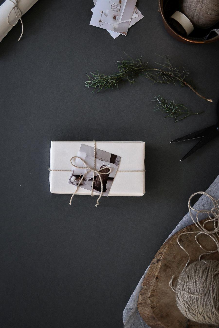 Add a decoration - photo or twig