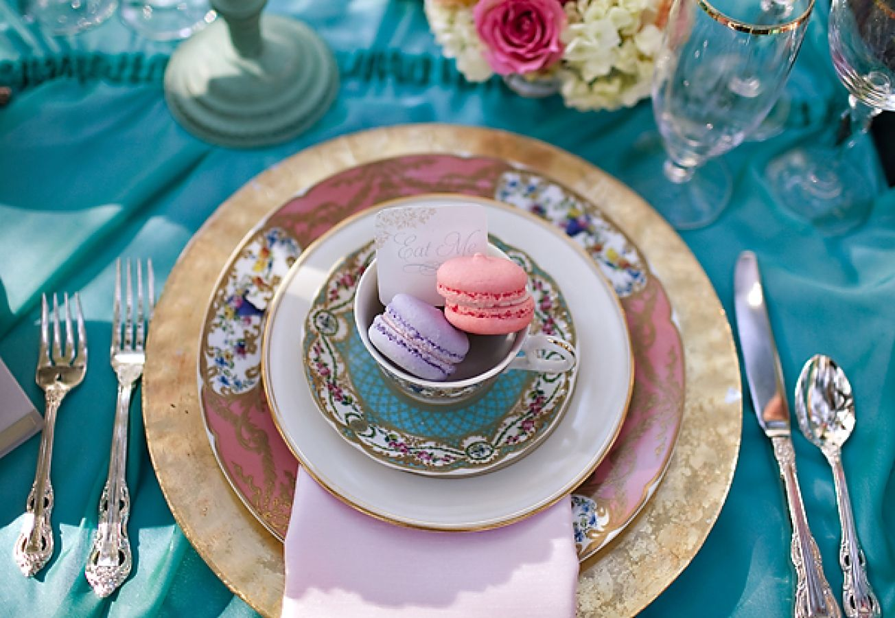 Alice in Wonderland themed tea party