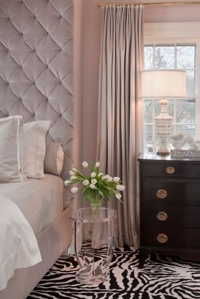 Bedroom with a feminine touch