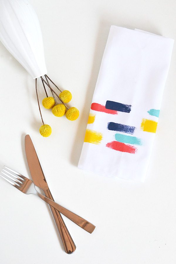 Brush Strole napkins
