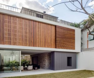 Brazilian Retreat With Two Gardens And A Generous Rooftop Terrace