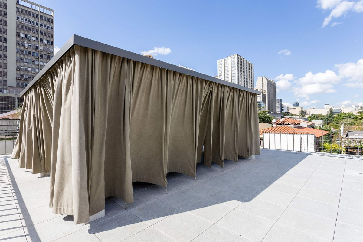 Casa Lara roof terrace curtains