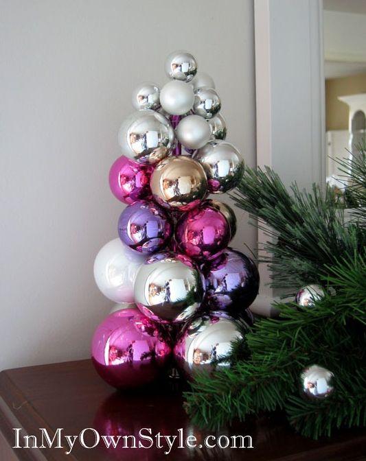 Christmas ornaments mini Tree