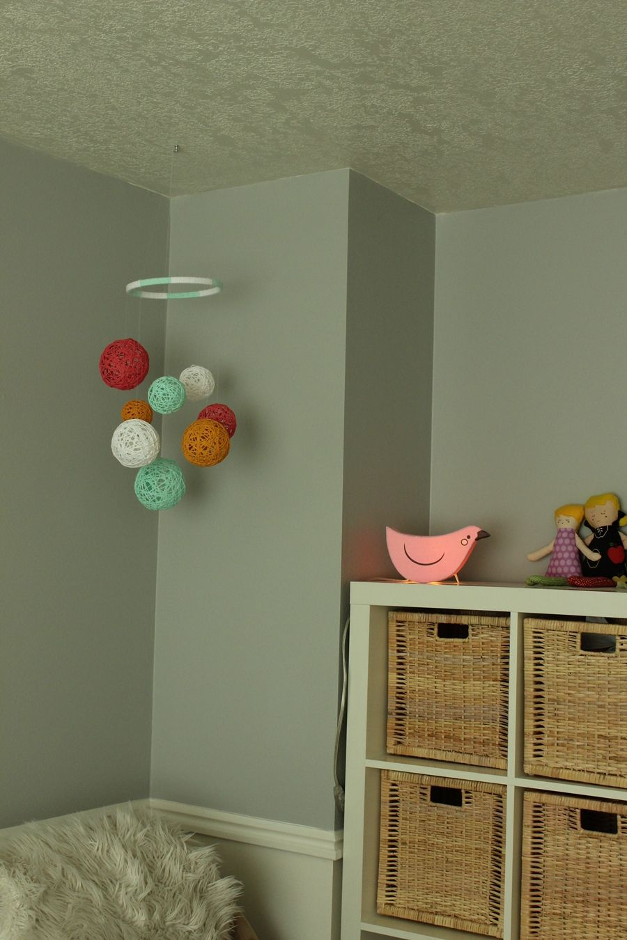 Colorful DIY Nursery Mobile