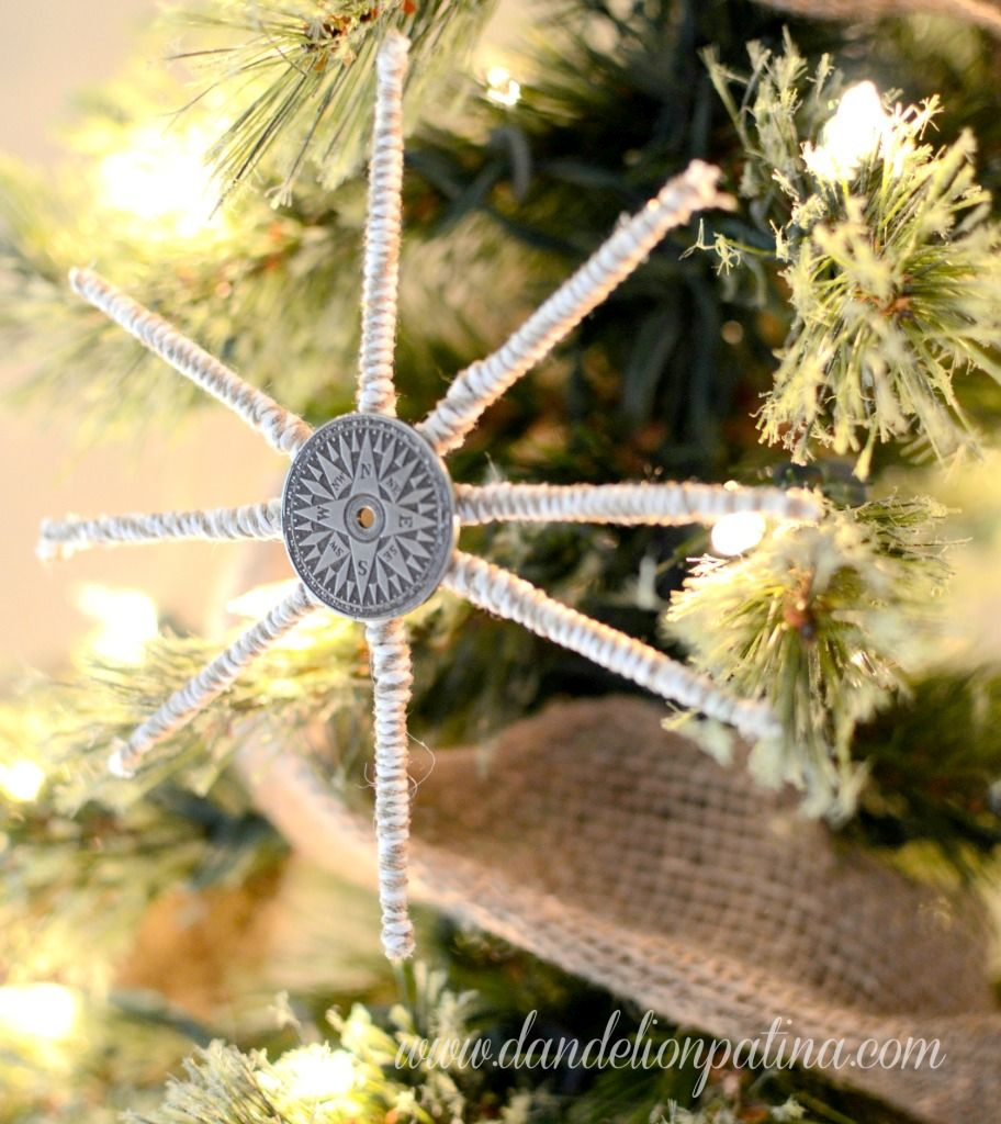 Compas Coin Snowflake