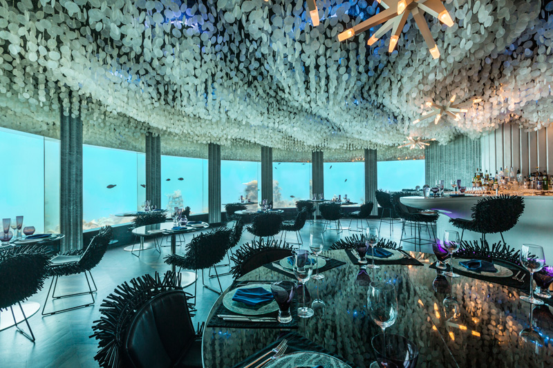 Cool Underwater Restaurant Gets Restyled By Poole Associates